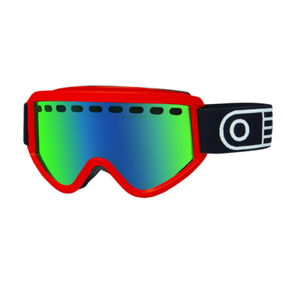 Airblaster Airblaster Pill Air Goggle Red Gloss / Green Air Radium