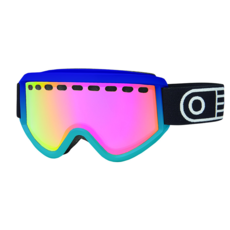 Airblaster Airblaster Pill Air Goggle Purple Turquoise Gloss / Red Air Radium