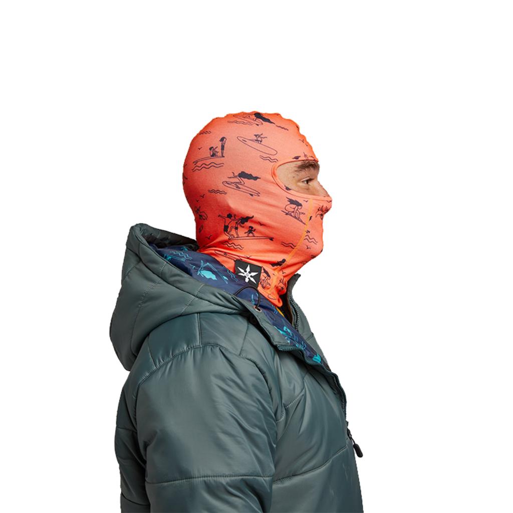Airblaster Airblaster Ninja Face HE Hot Coral