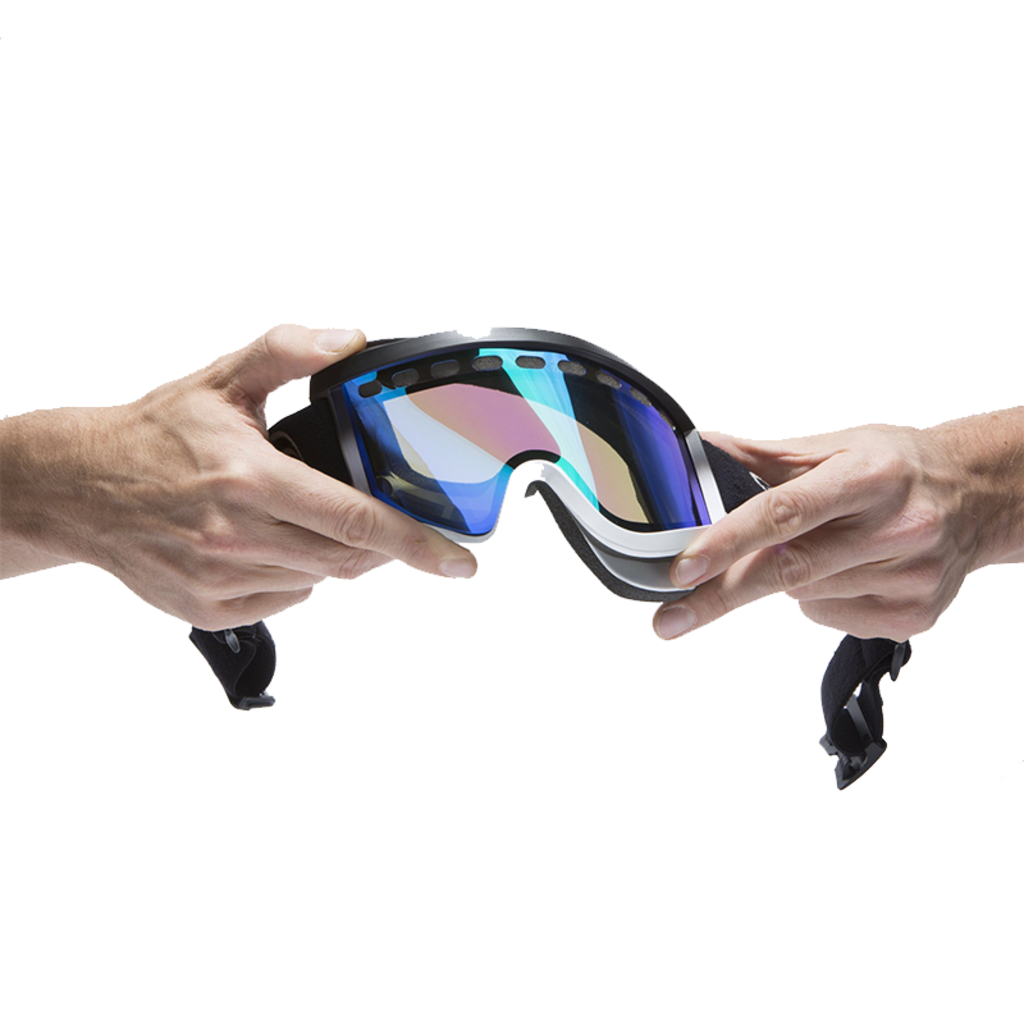 Airblaster Airblaster HE Air Goggle Teal Gloss / Rose Blue Chrome