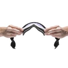 Airblaster Airblaster LB Air Goggle YOLO Matte / Amber Chrome