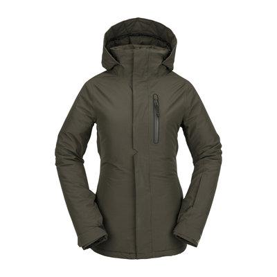 Volcom Volcom Eva Insulated Gore-tex Jacket Black Military