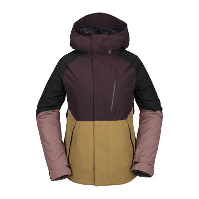 Volcom Volcom Aris Insulated Gore Jacket Black Red