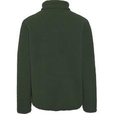 KnowledgeCotton Apparel KnowledgeCotton Apparel Elm Zip Teddy Fleece Sweater Forrest Night