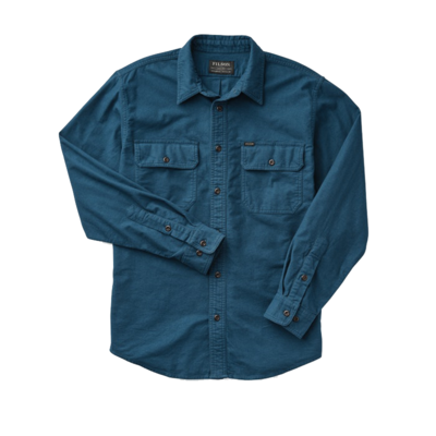 Filson Filson Field Flannel Shirt Legion Blue
