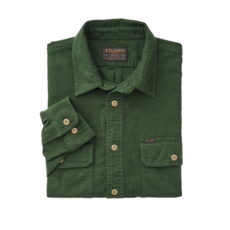 Filson Filson Field Flannel Shirt Dark Moss