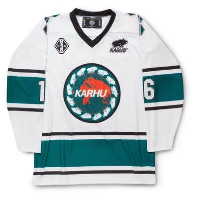 Karhu x Tackla Hockey Jersey White / Atlantic Deep