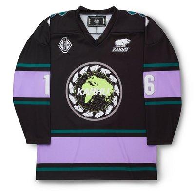 Karhu x Tackla Hockey Jersey Black / Purple Heather