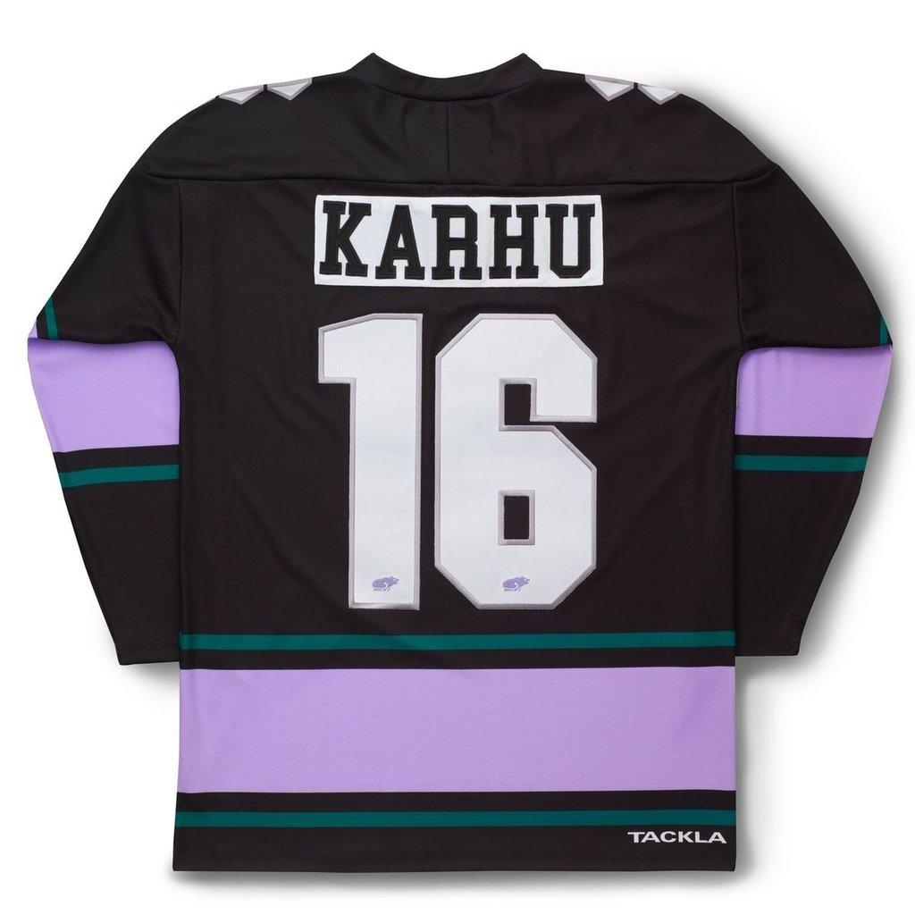 Karhu Karhu x Tackla Hockey Jersey Black / Purple Heather