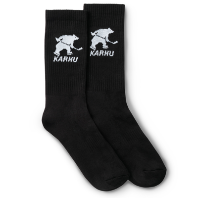 Karhu Karhu Hockey Bear Sock Black / White