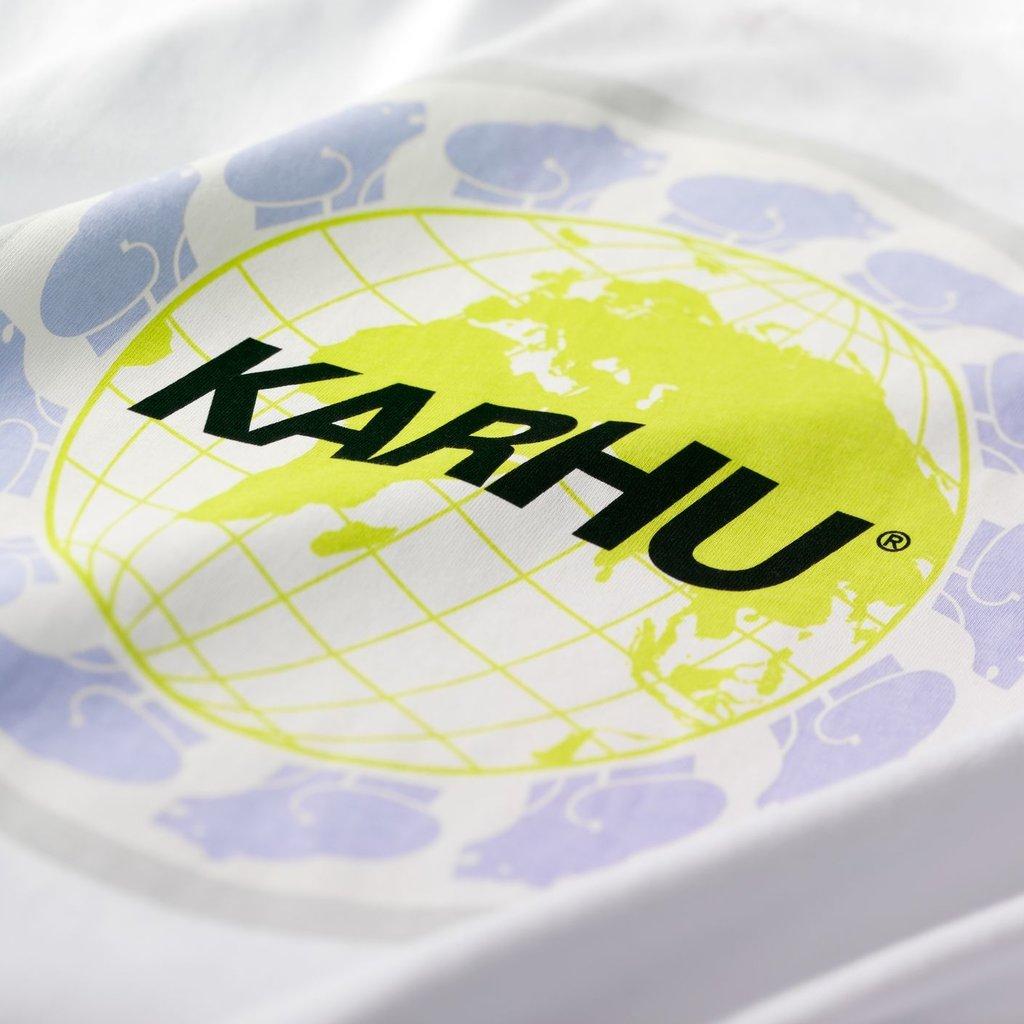 Karhu Karhu Worldwide T-Shirt White / Black