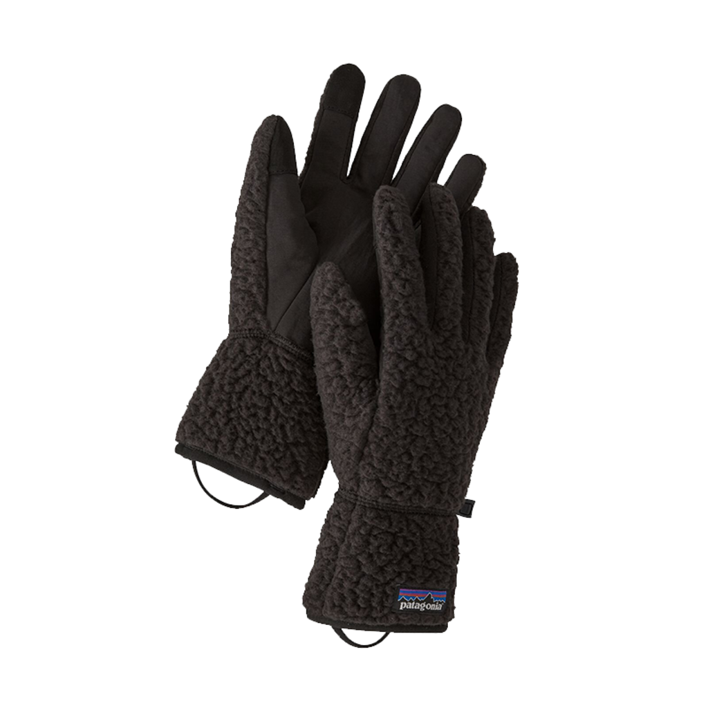 Patagonia Patagonia Retro Pile Gloves Black