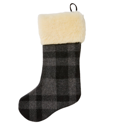 Filson Filson Christmas Stocking Gray / Black