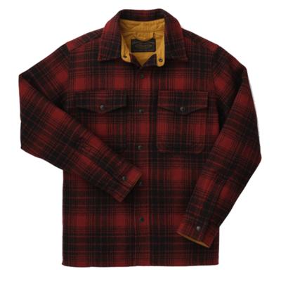 Filson Filson Mackinaw Jac Shirt Oxford Black Plaid