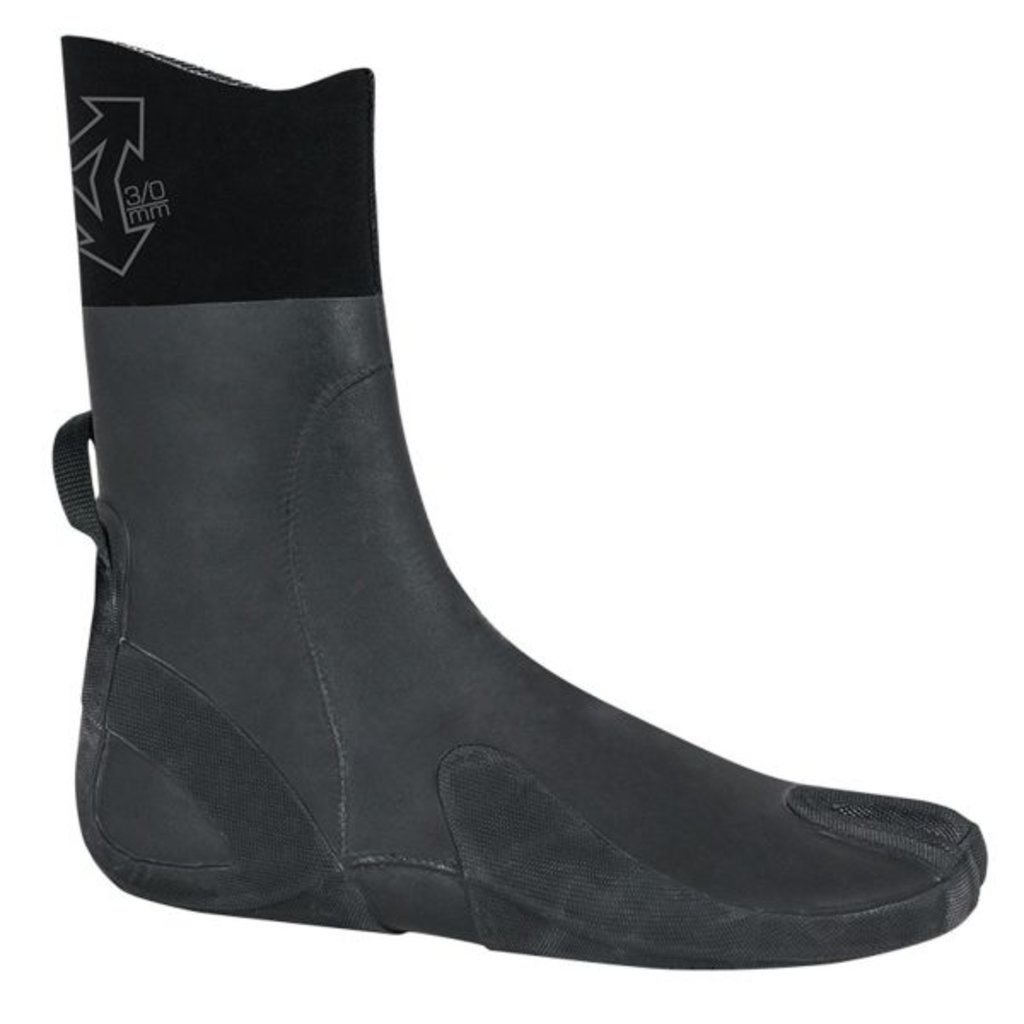 Xcel Xcel 3mm Split Toe Comp X Boot Black