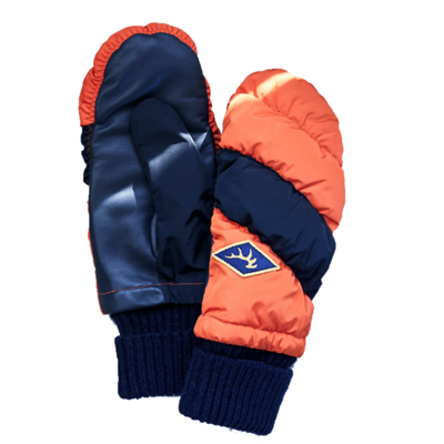 Elmer Elmer Mitten Down Pack Orange / Navy
