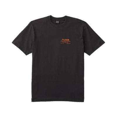Filson Filson S/S Outfitter Graphic T-Shirt Black