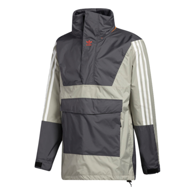 adidas adidas Anorak 10K Jacket Grey Six / GFeather Grey / Orange