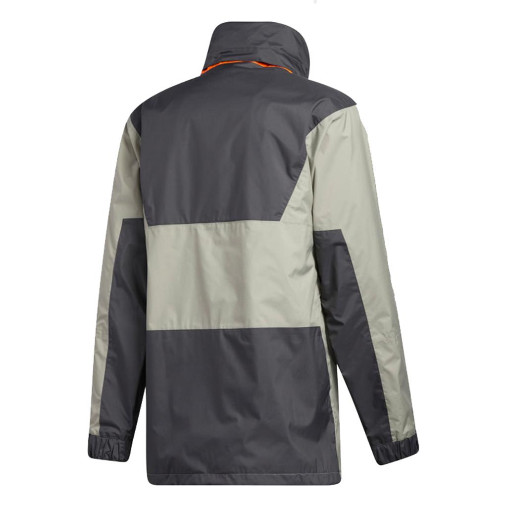 adidas adidas Anorak 10K Jacket Grey Six / GFeather Grey / Orange