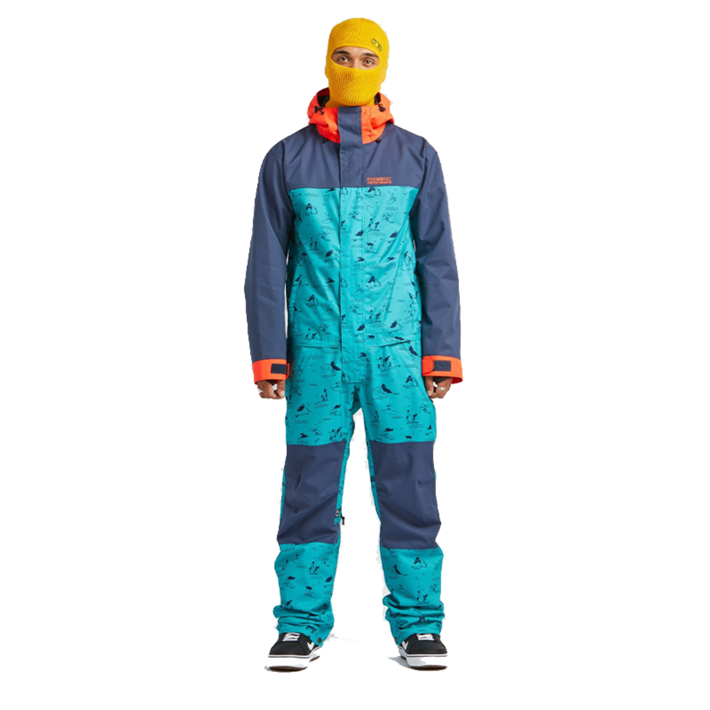 Airblaster Airblaster Stretch Freedom Suit Max Blue