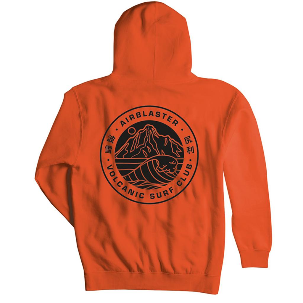 Airblaster Airblaster Volcano Surf Club Hoody Orange