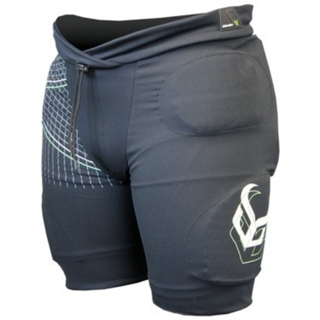 Demon Demon Protection Flex Force Pro Padded Shorts Black