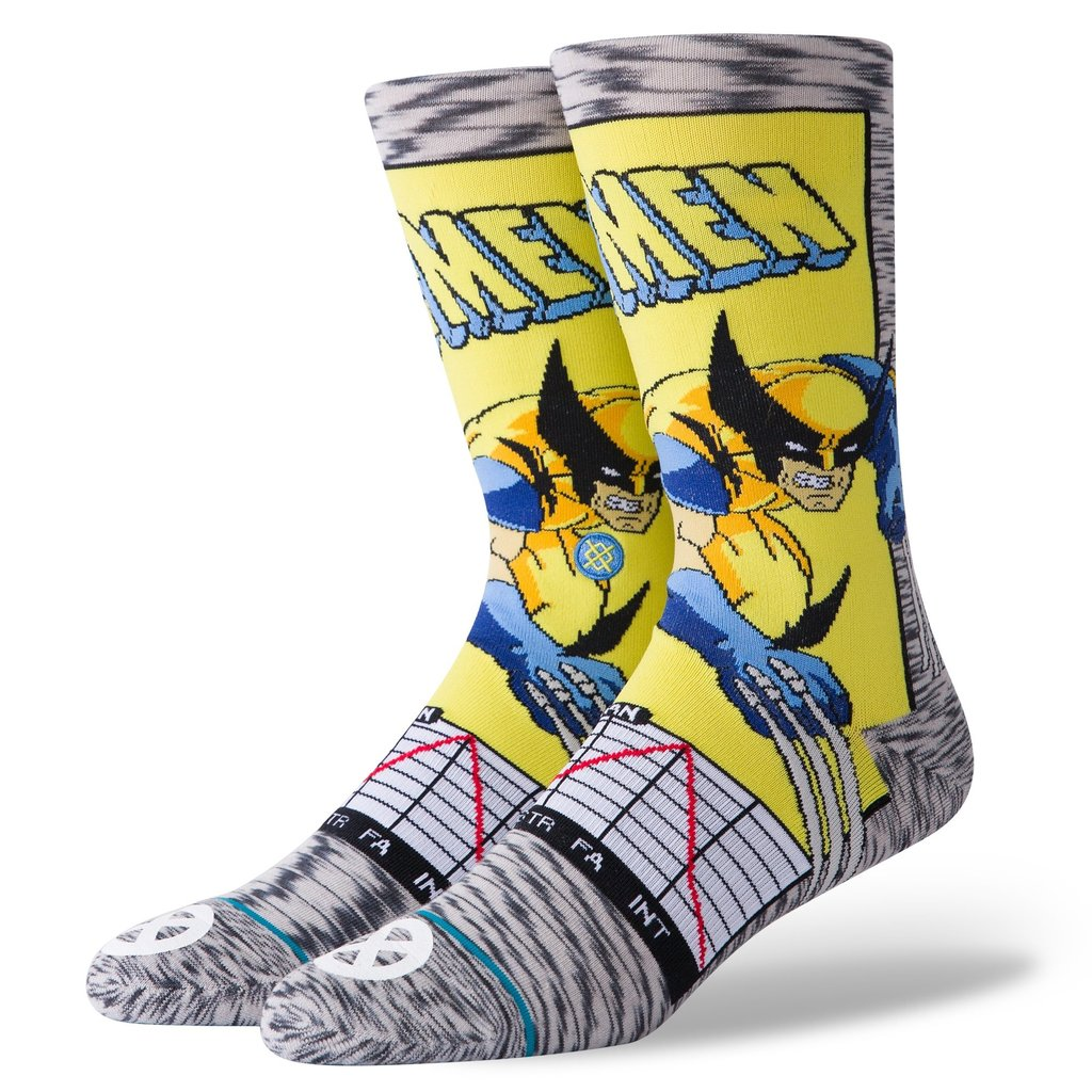 Stance Stance Wolverine Comic Grey