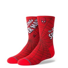 Stance Stance Amazing Spiderman Kids Red
