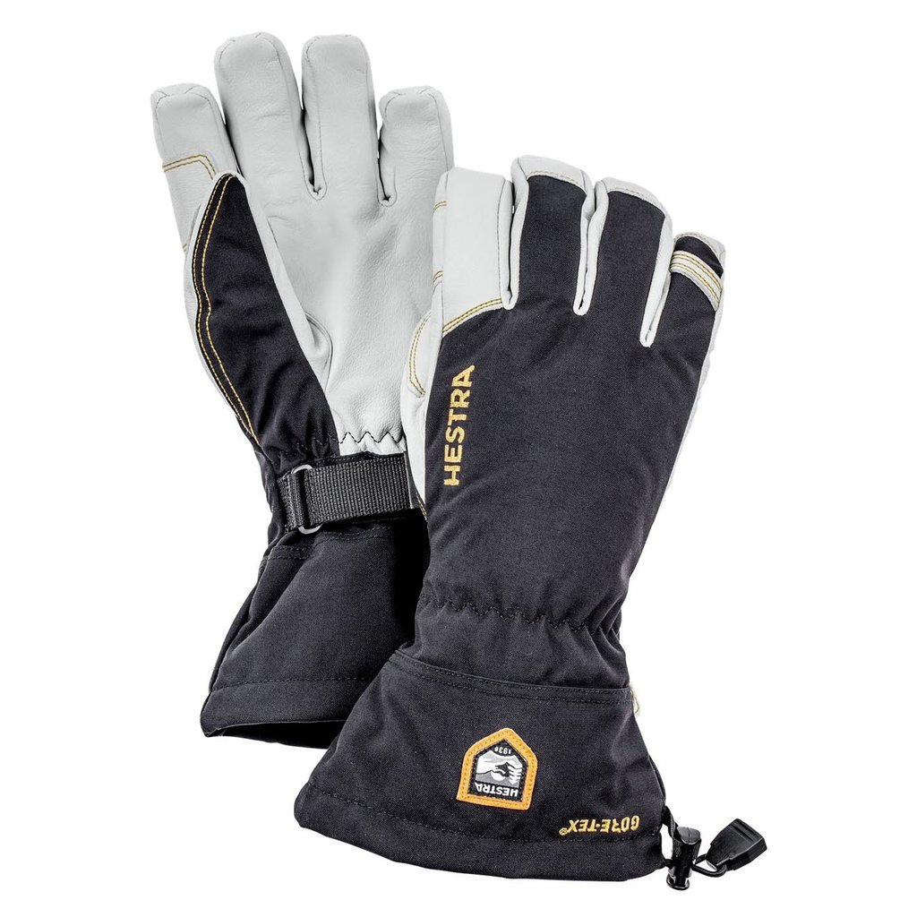 Hestra Hestra Army Leather GORE-TEX 5 Finger Glove Black
