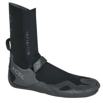 Xcel Xcel 5mm Round Toe Infiniti Boot Black