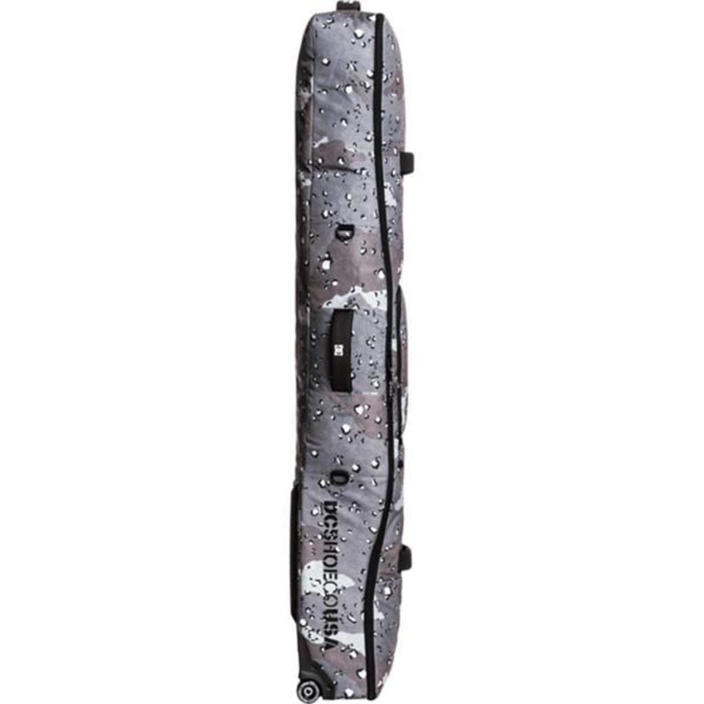 DC DC Tarmac Wheelie Boardbag Chocolate Chip / Greyscale Camo