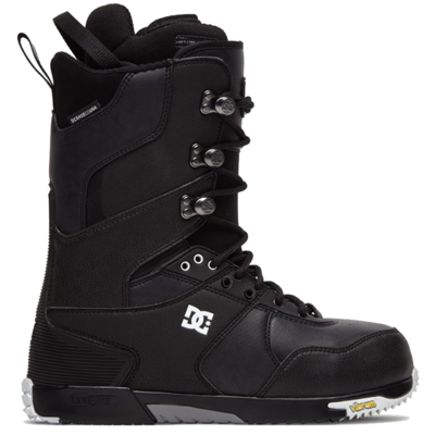 DC DC The Laced Boot Black