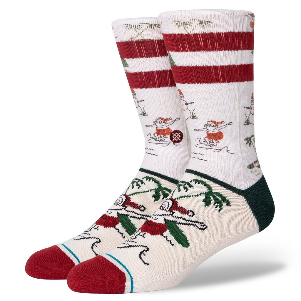Stance Stance Santas Day Off White