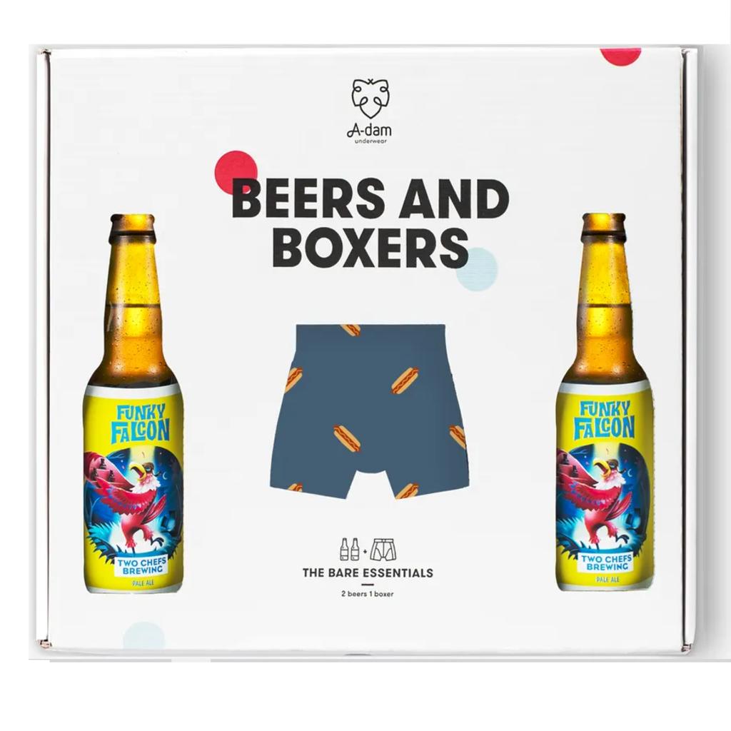 Adam Underwear Adam Underwear Beers and Boxers Blue