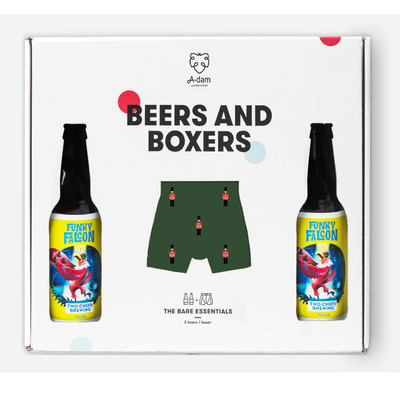 Adam Underwear Adam Underwear Beers and Boxers Green