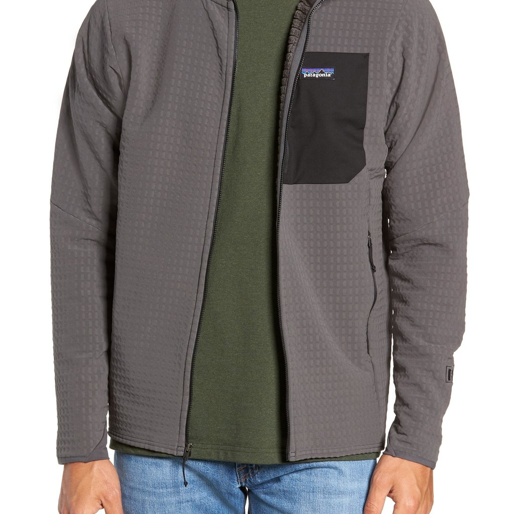 Patagonia Patagonia M's R2 Techface Jacket Forge Grey