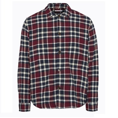 KnowledgeCotton Apparel KnowledgeCotton Apparel Pine Checked Overshirt Codovan