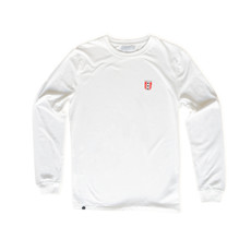 Behind The Pines Behind The Pines Organic Amsterdam L/S Tee White