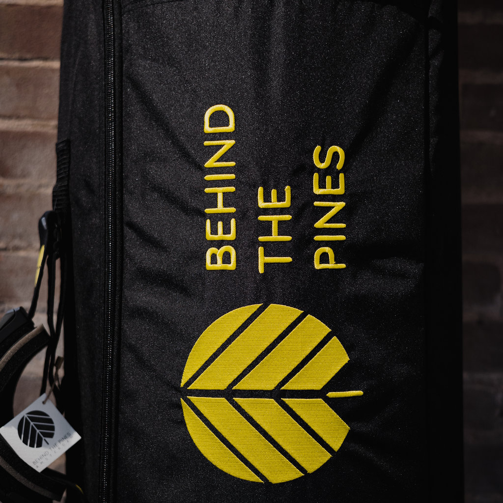 Behind The Pines Behind The Pines Recycled Boardbag 170 cm Black / Yellow