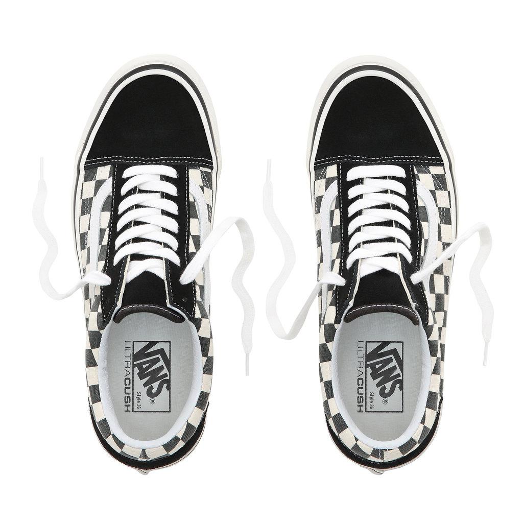 Vans Vans Old Skool 36 DX Anaheim Factory Black / Check