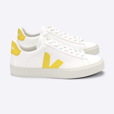 Veja Veja Campo Chromefree Leather Extra White / Tonic