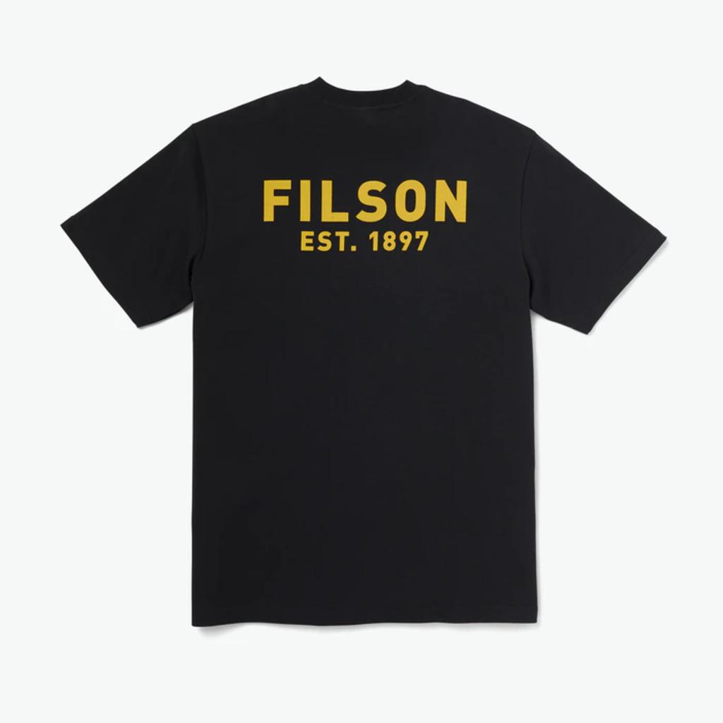 Filson Filson x Popeye Short Sleeve T-shirt Black Bluto