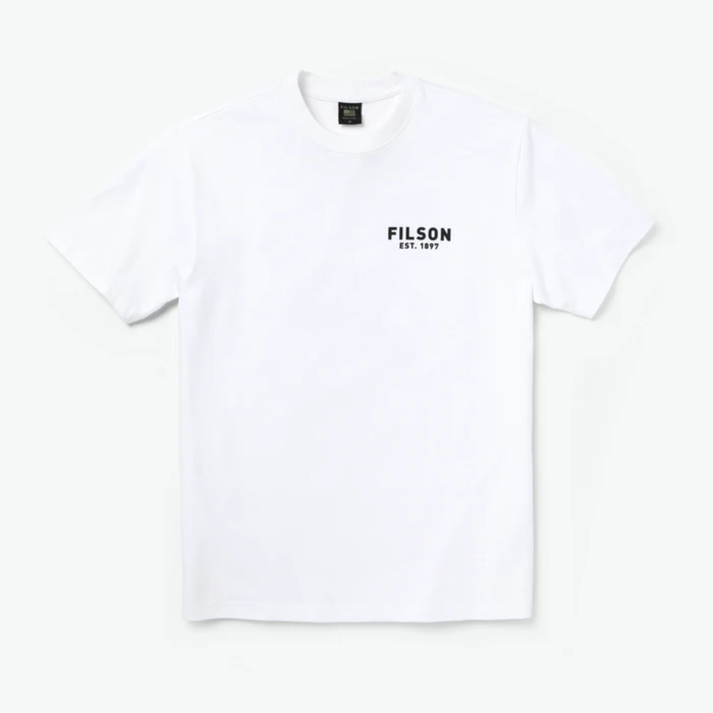 Filson Filson x Popeye Short Sleeve T-shirt White Akimbo
