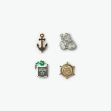 Filson Filson x Popeye Enamel Pin Set Multicolor