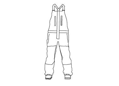 Snow broeken