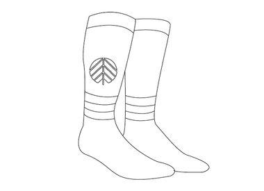 Snowboard sokken