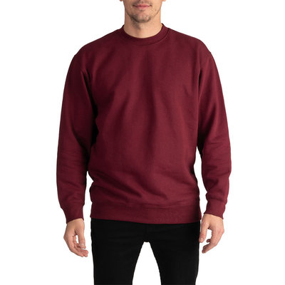 Behind The Pines Behind The Pines Heavyweight Crewneck Burgundy