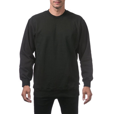 Behind The Pines Behind The Pines Heavyweight Crewneck Black