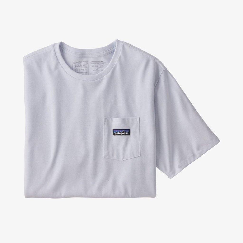 Patagonia Patagonia M's P-6 Label Pocket Responsibili-tee White
