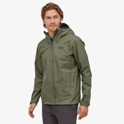 Patagonia Patagonia Mens Torrentshell 3L Jacket Industrial Green